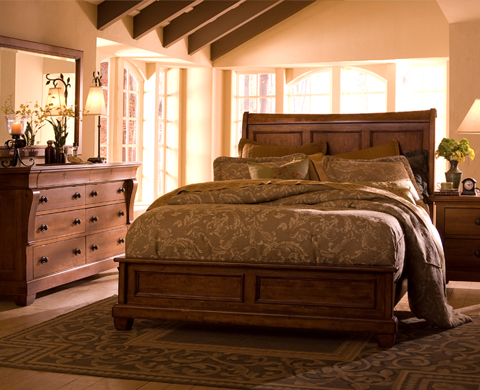 Tuscano tuscan bedroom