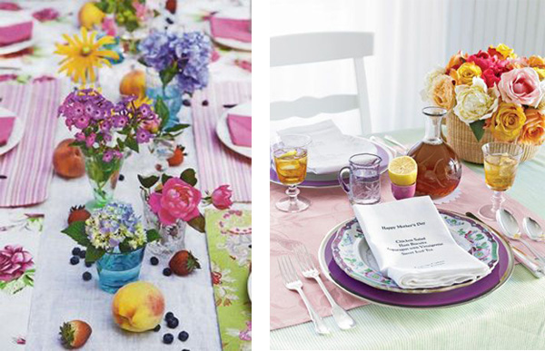 Nothing brings life to a table like flowers!