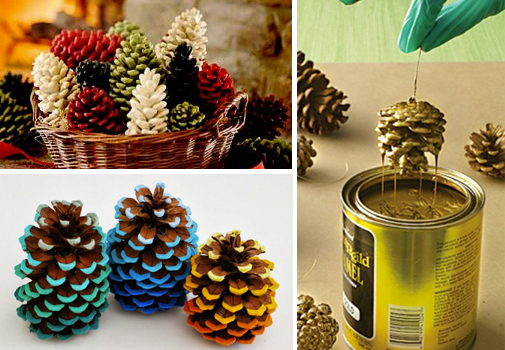 Pinecone Crafts and Decor