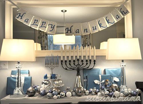 Hanukkah Decorating at its Best