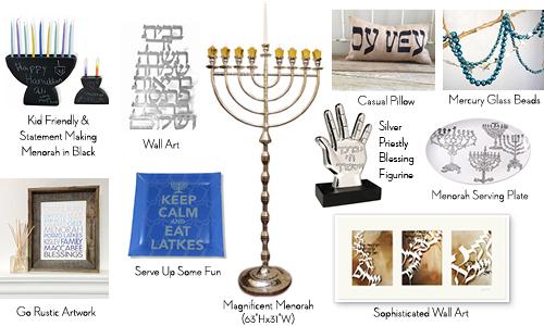 Hanukkah Table Setting Party Favors