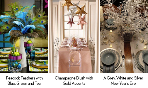 New Year's 2014 Decor Trends