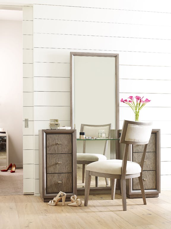 Rachael Ray Vanity with Full-Length Mirror