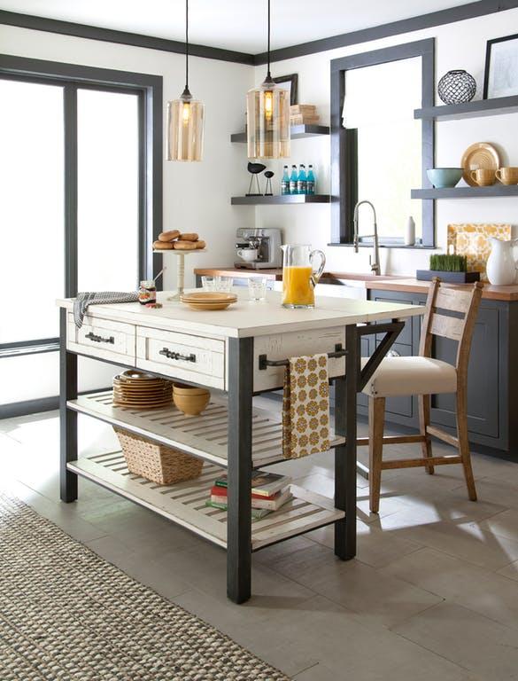 Trisha Yearwood Coming Home Kitchen Island & Dining Room Set