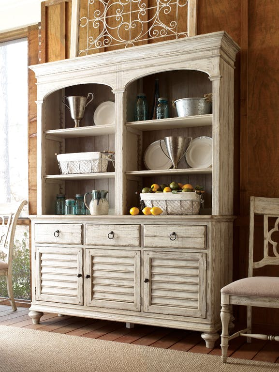 Weatherford Hastings Open Hutch and Buffet