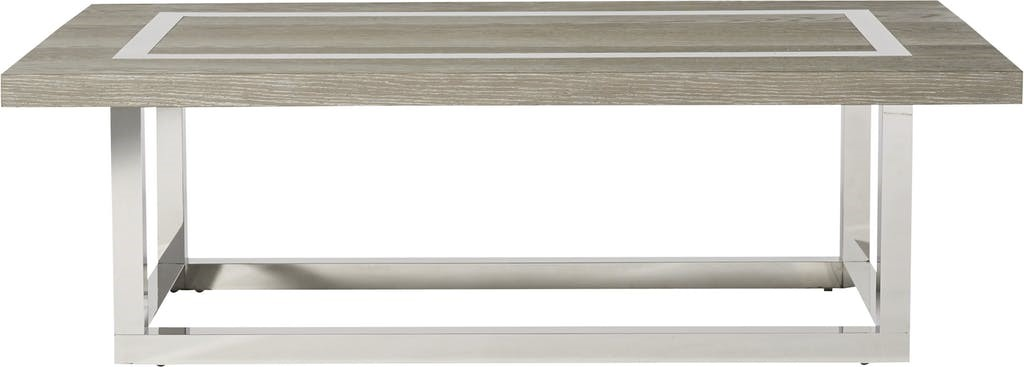 Stainless Steel Modern Coffee Table