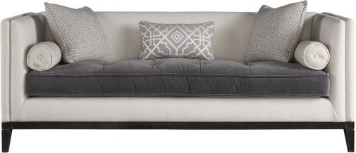 Hartley Modern Velvet Sofa