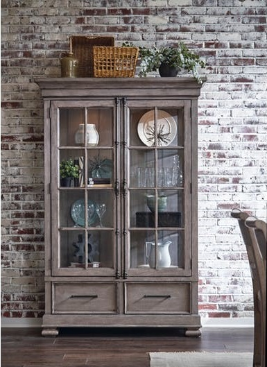 Prospect Hill Modern China Cabinet